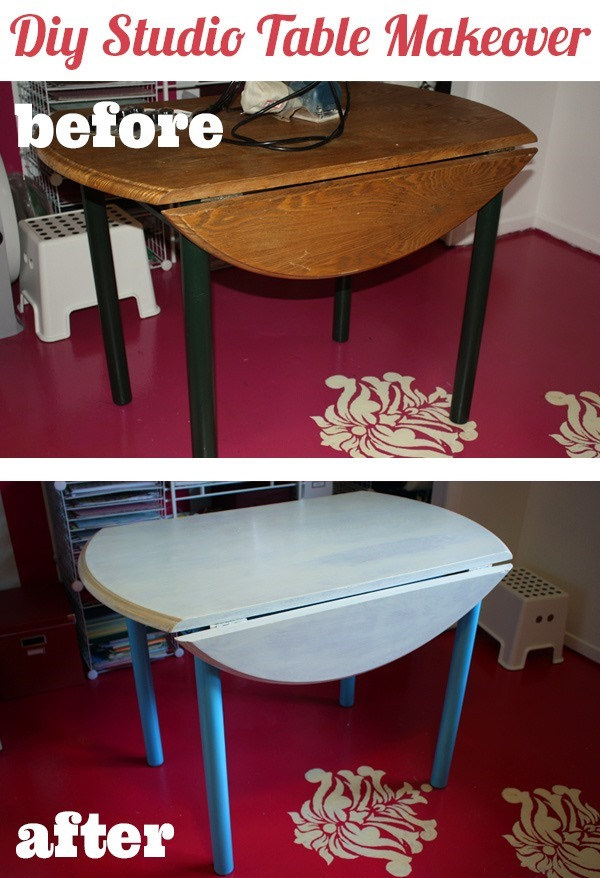 DIY-table-makeover