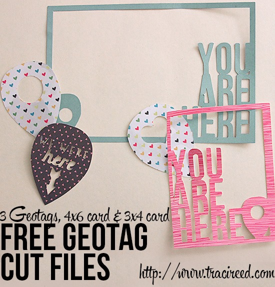 Free cuts on her site my favorite are these adorable geotag cuts