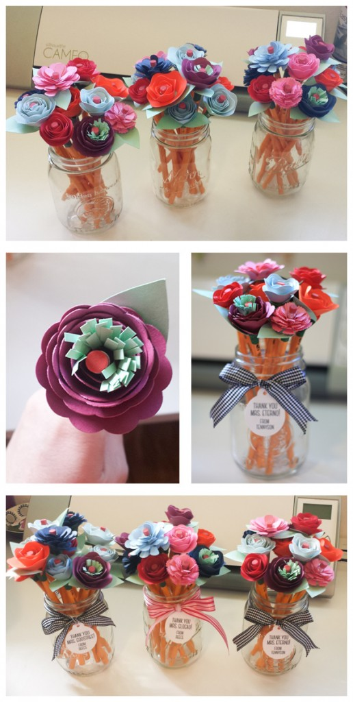 DIY: Rolled Flower Pencils and Free Cutting File Too!