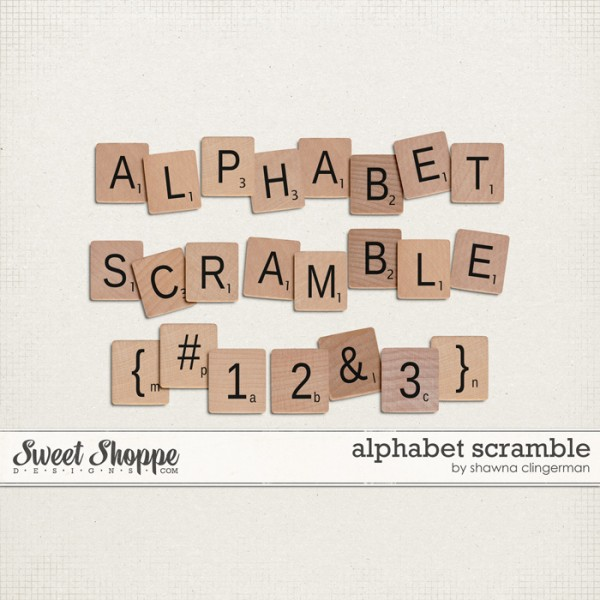 Alphabet Scramble by Shawna Clingerman