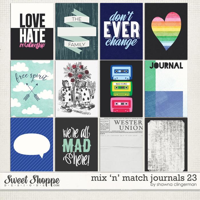 journal card set 23