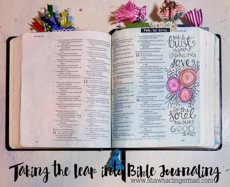 Taking The Leap into Bible Journaling
